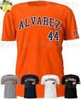 Houston Astros Yordan Alvarez 44 Jersey Tee T Shirt Men Size S-5XL on Ebay
