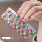 Wraps Nail Art Decoration DIY Nail Stickers For Party Wedding Nail Polish Patch