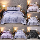 Marble Duvet Cover 3 Piece Set  Comforter Microfiber Reversible Bedding Bed Set image