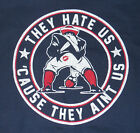 New England Patriots they hate us cause they ain't us tee shirt football Brady $20.0 USD on eBay