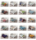 Ambesonne Bedspread with Pillow Shams for Bed Coverlet Set Quilted Decorative image