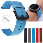 18/20/22/24mm Retro Genuine Leather Quick Release Watch Band Strap Universal US image