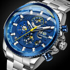 Luxury Men Sport Watch Stainless Waterproof Date Mechanical Automatic Wristwatch image