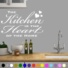 Wall Art Kitchen Heart Of Home Sticker Decal Stickers Interior Home Decor Quotes