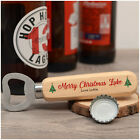 PERSONALISED Bottle Opener Christmas Gifts for Him Dad Grandad Uncle Mum Her She