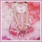 Sweet Girl Lolita Dress JSK Jumper Skirt Kawaii Cute Bow Ruffle Japanese