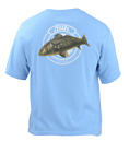 Save 50% HUK FISHING YOUTH BULL BRIGADE REDFISH FISHING TEE-Pick Color/Size