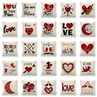 Valentine's Day Oath Of Love Geometric Pillow Cover Cushion Case Home Decorative $3.35 USD on eBay
