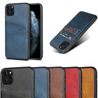 Cover For Iphone 11 Pro Max Xs Xr 7 8 6s Cowhide Texture Card Slot Leather Case