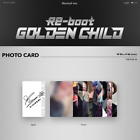 GOLDEN CHILD - 1ST ALBUM RE-BOOT NORMAL VER. PHOTO CARD