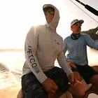 AFTCO JASON CHRISTIE HOODED LS PERFORMANCE FISHING SHIRT-Pick Color-Free Ship