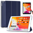 For iPad 7th Gen Generation 10.2 inch Case Cover+Tempered Glass Screen Protector