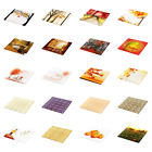Ambesonne Autumn Season Decorative Tempered Glass Cutting and Serving Board