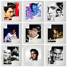 Elvis Presley 3D Printed Sherpa Blanket Couch Quilt Cover Travel Bedding U16