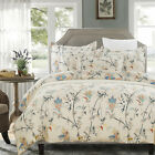 Kyпить Lightweight Soft Microfiber Duvet Cover Set, Floral Print Pattern, 3-Piece Set на еВаy.соm