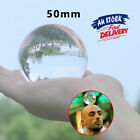 50mm Clear Glass  Props Home Decoration Sphere Crystal Ball For Photography
