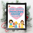 Personalised+Disney+Gifts+Nanny+Nan+Grandmother+Her+Framed+Best+Card+Christmas