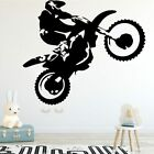 Motorcycle Stunt Driver Wall Sticker Home Decor For Living Room Kids Decoration