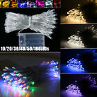 Led Christmas String Lights Indoor / Outdoor Battery Operated Fairy Party Decor