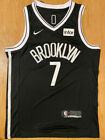 NWT #7 Kevin Durant Brooklyn Nets Men's Black Icon Swingman Jersey