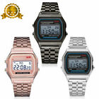 New Watch Classic Rare Men CASIO A158W-1 Unisex Multi-Colors LED Digital F91W HQ image