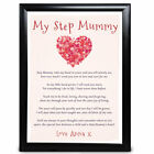 Personalised Gifts for Brother Heart Keepsake Poem Birthday Christmas Print
