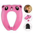 1PC Foldable Baby Toilet Training Ring Trainer Seat Potty Seat for Baby Toddler image