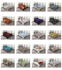 Bed Coverlet Set Quilted with by Ambesonne Pillow Shams Decorative Bedspread image
