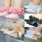 Toddler Baby Girls Princess Bowknot Sock kids Lace Ruffle Ankle Socks Welcome