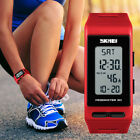 SKMEI Digital Wrist Watches Pedometer Calories Alarm Sport Quartz Watch Lady Boy image