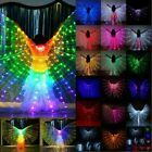US Adult Girls Kids LED Isis Wings Belly Dance Light Show Costume Egyptian Party
