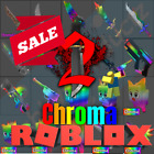 Roblox Murder Mystery 2 MM2 ALL CHROMA WEAPONS Godly Knifes and Guns