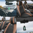 Luxury Leatherette Bucket Seat Covers Set for Car SUV 10 Colors w/ Free Gift $127.99 USD on eBay
