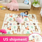 Baby Play Mat Folding Large Thick Foam Crawling Reversible Waterproof Portable