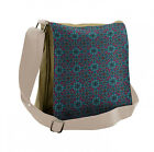 Ambesonne Octopus Nautical Messenger Bag with Shoulder Strap Unisex Cross-body