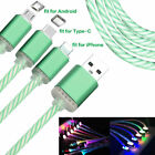 LED Light Up Charger Charging Cable USB Cord for Android Huawei Xiaomi Phone