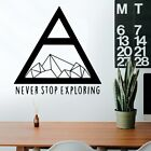 Cartoon Style Triangle Home Decoration Accessories Nursery Removable Mural