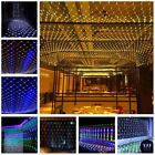 Christmas Led Net Mesh Fairy String Curtain Lights Waterproof Outdoor Home Decor