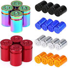 4pcs Car Valve Stems Caps Cover Dust Spent Bullet Cartridge Design Tire Wheel $6.39 USD on eBay