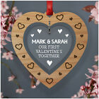 PERSONALISED Our First Valentines Together Gifts for Girlfriend Boyfriend Her