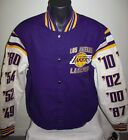LOS ANGELES LAKERS 16 TIME NBA FINALS CHAMPIONS Jacket  M XL