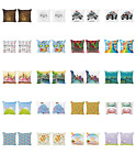 Ambesonne Cartoon Theme Cushion Cover Set Of 2 For Couch And Bed In 4 Sizes