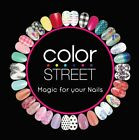 Kyпить COLOR STREET Dry Nail Polish Strips / wraps SAFE ON ACRYLIC GEL and DIP NAILS! на еВаy.соm