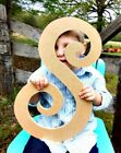 Wooden Letters, Curlz Font, Unfinished Cheap Letters, Large Wood Craft Letters