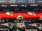 NEW ENGLAND PATRIOTS COTTON FABRIC BTY 3 Prints Fabric Traditions $9.95 USD on eBay