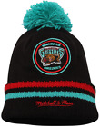 Mitchell & Ness Memphis Grizzlies Retro Team Travel Winter Knit Beanie NBA PE on eBay