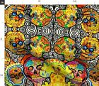 Dios De Los Muertos Day Of The Dead Halloween Fabric Printed by Spoonflower BTY