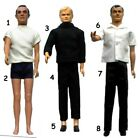"1965 JAMES BOND MAN UNCLE 12"" gilbert figure -- SHIRT PANTS PISTOL SHOES SOCKS $49.46 USD on eBay"