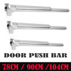 78cm -104cm Door Push Bar Panic Exit Device Lock Emergency Hardware Adjustable