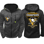 New Hot Gray Hoodie Nhl Ice Hockey Training Clothes Team Uniform Jacket Coat $24.29 USD on eBay